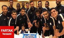 باشگاه الکویت برای سعودیها جشن قهرمانی گرفت