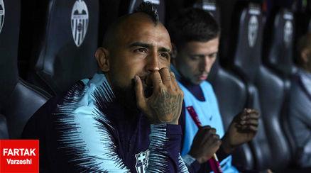 انتقاد مدیر ورزشی بارسلونا از رفتار ویدال