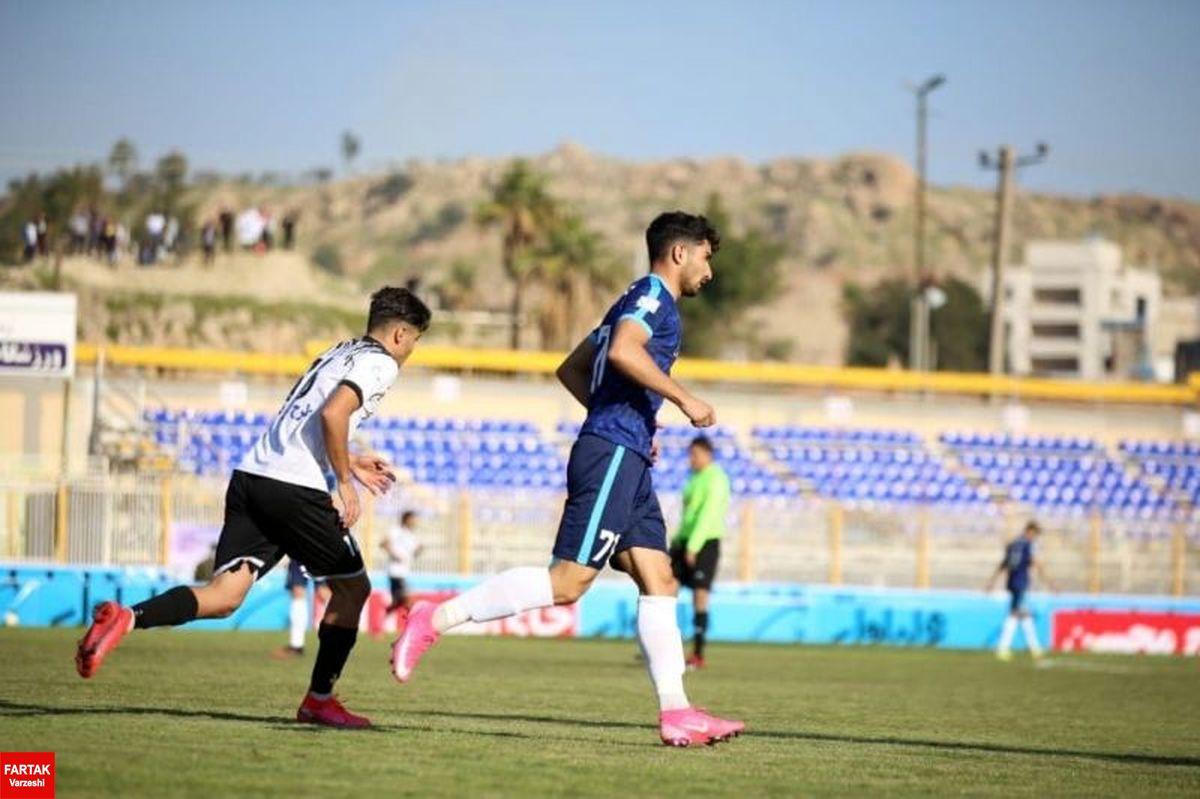 لیگ برتر فوتبال پیکان و نفت با تساوی به رختکن رفتند