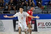 مسابقات فوتبال ساحلی قهرمانی آسیا| ژاپن و امارات فینالیست شدند