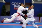 چهار سهمیه المپیک کاراته ایران قطعی شد/بازگشت ملی پوشان به تهران