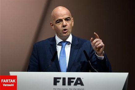 رئیس فیفا طرفدار سفت و سخت مارادونا!