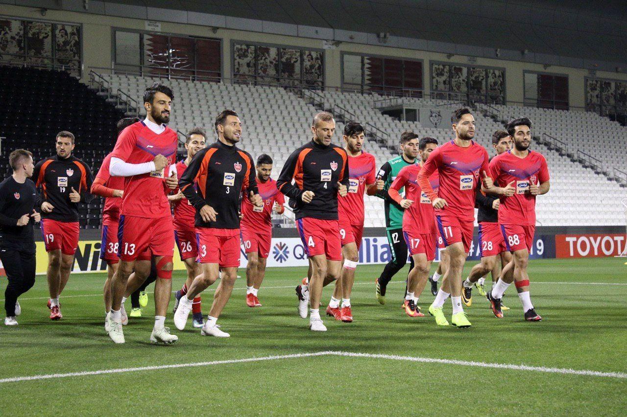 بازیکنان پرسپولیس با بازیکنان لوکوموتیو ازبکستان رودررو نشدند