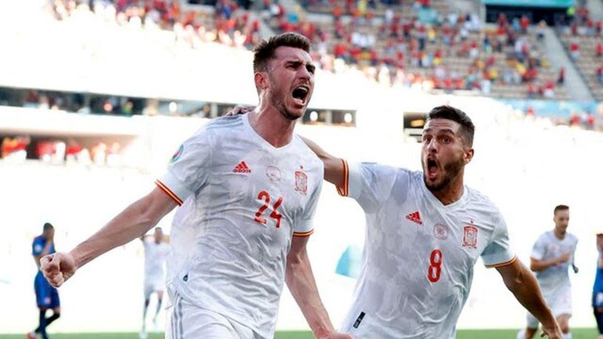 پیروزی پر گل اسپانیا آن ها را به مرحله بعد رساند