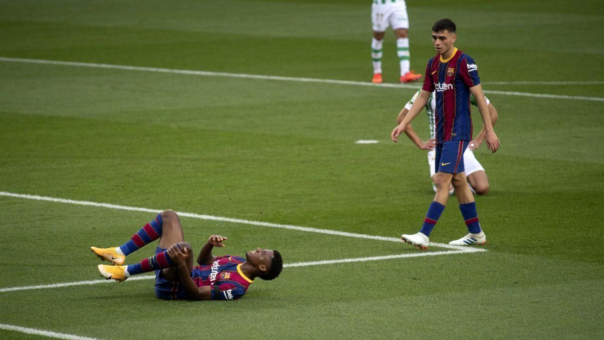 شوک به بارسلونا؛ مصدومیت شدید برای آنسو فاتی