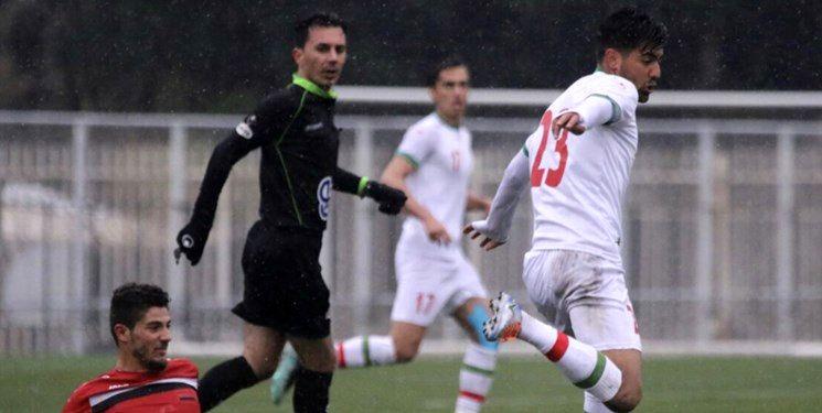 شکست تیم امید ایران مقابل سوریه