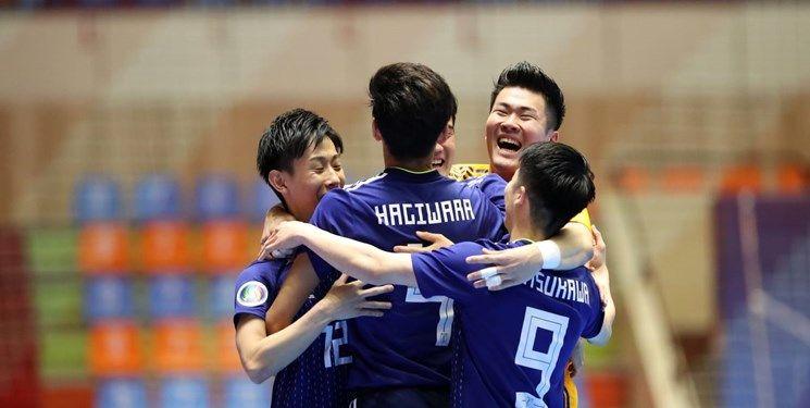 صعود ژاپن به مرحله نیمه نهایی فوتسال زیر ۲۰ سال آسیا
