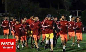 مهاجم الجزایری در اردوی ترکیه تراکتور حضور یافت