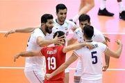 نخستین پیروزی والیبال ایران با جوانان/ کانادا تسلیم شد