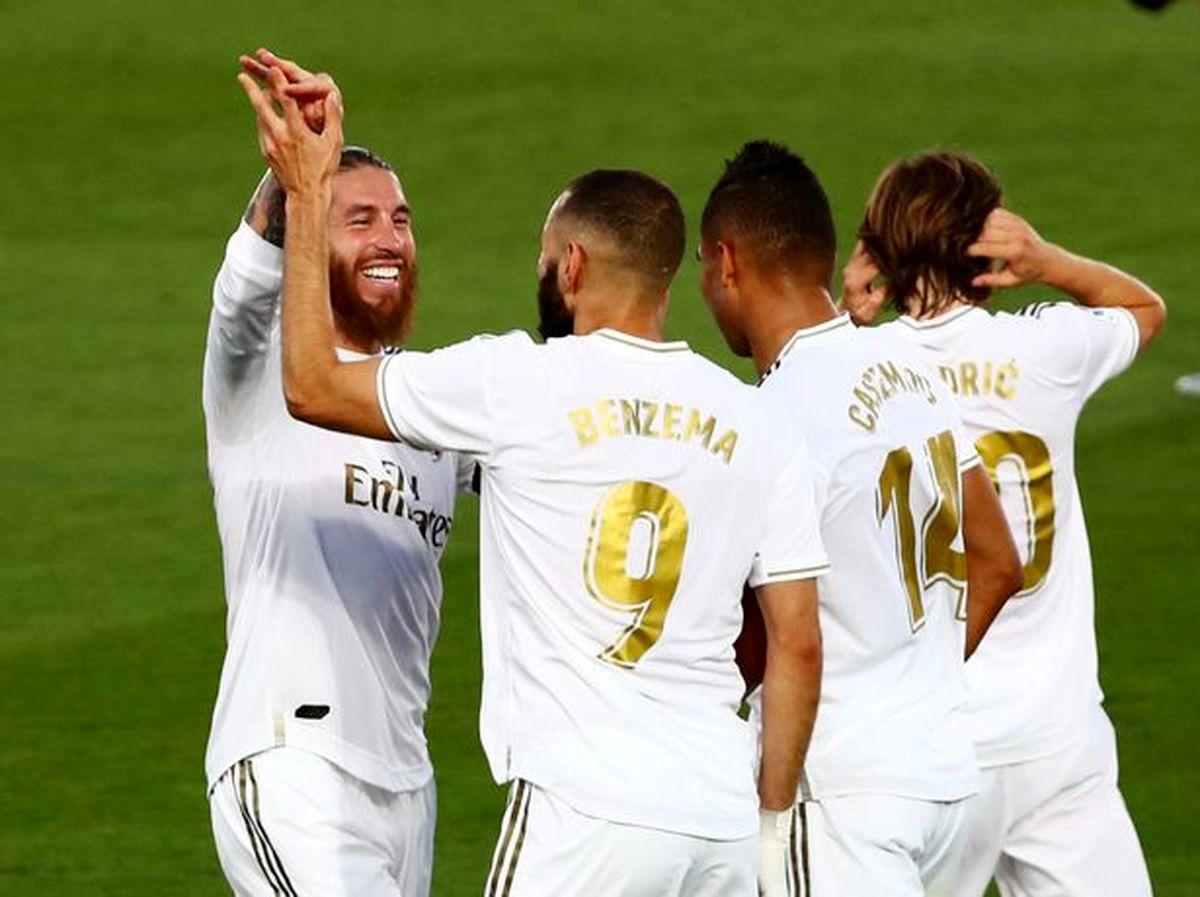 ترکیب رئال مادرید مقابل اینتر میلان اعلام شد