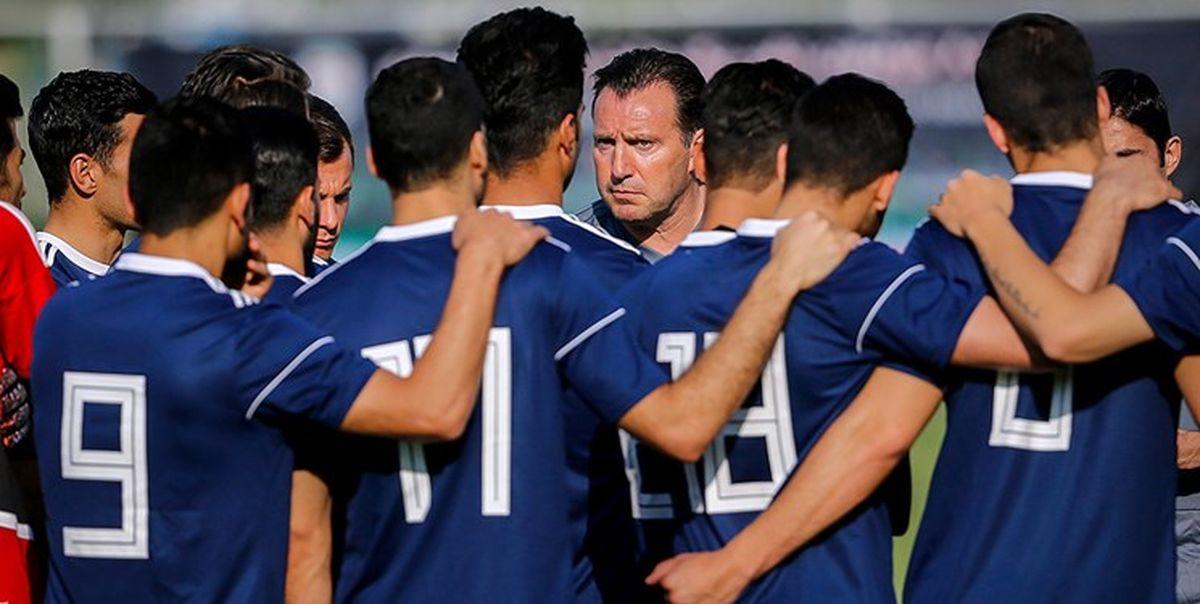آخرین تمرین تیم ملی قبل از دیدار با سوریه برگزار شد