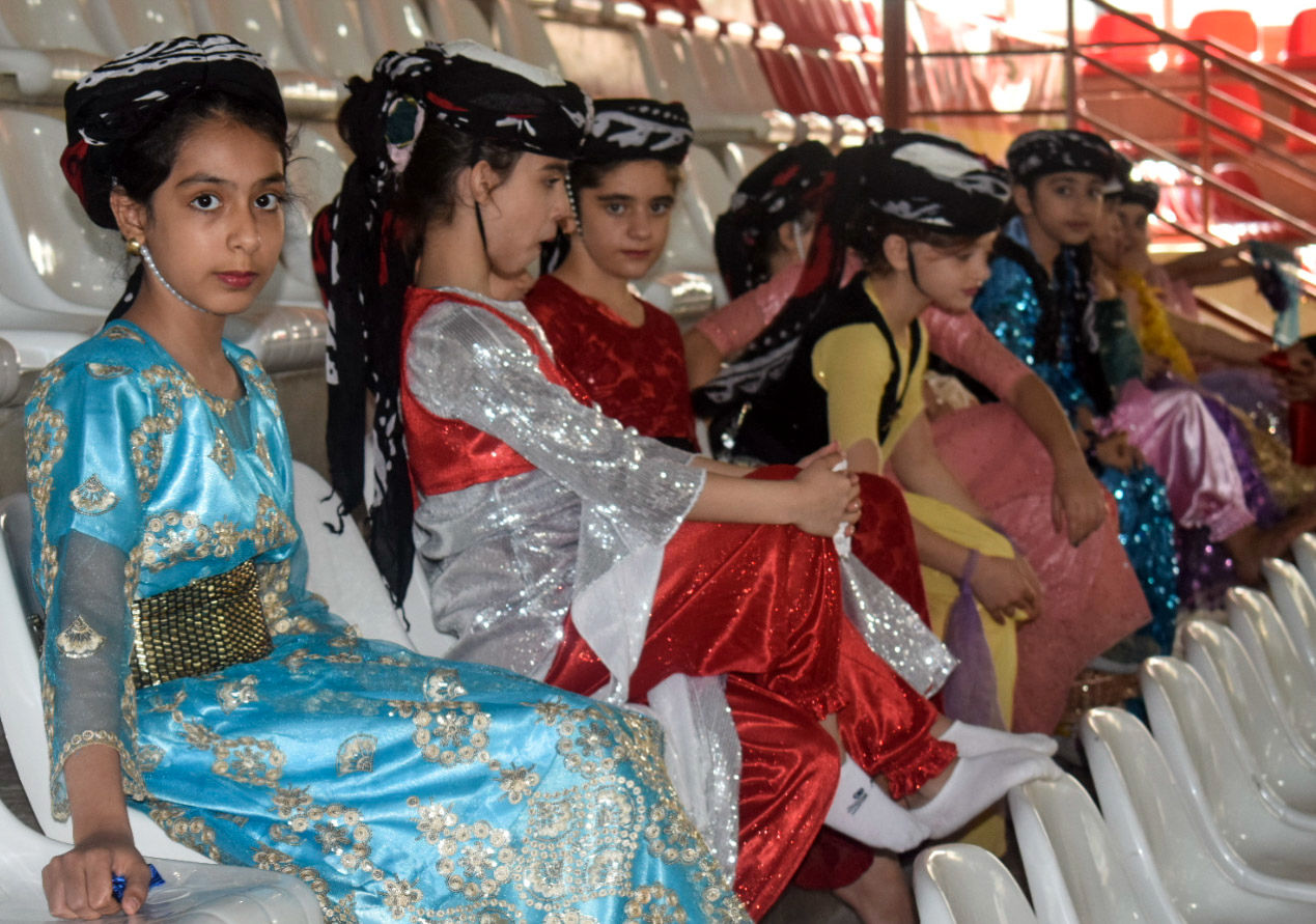 افتتاحیه رقابتهای رشته ژیمناستیک - ترامپولین نخستین المپیاد استعدادهای ورزشی برتر کشور در  کرمانشاه
