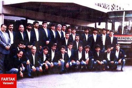 تیم فوتبال کشاورز با کلی ستاره در دهه 70
