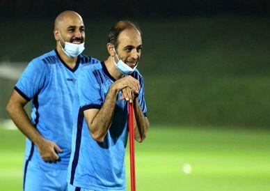 تصاویر / چهارمین تمرین بازیکنان تیم فوتبال فولادمبارکه سپاهان در دوحه قطر
