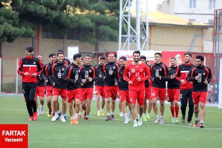 گزارش تمرین پرسپولیس/ غیبت بودیمیر و بازگشت بیرانوند به تمرینات گروهی