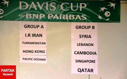 تیم ایران در نخستین جدال برابر جزایر پاسیفیک