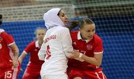 برتری تیم ملی فوتسال بانوان ایران برابر اوکراین