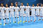 اعلام برنامه کامل مسابقات فوتسال جام ملتهای آسیا