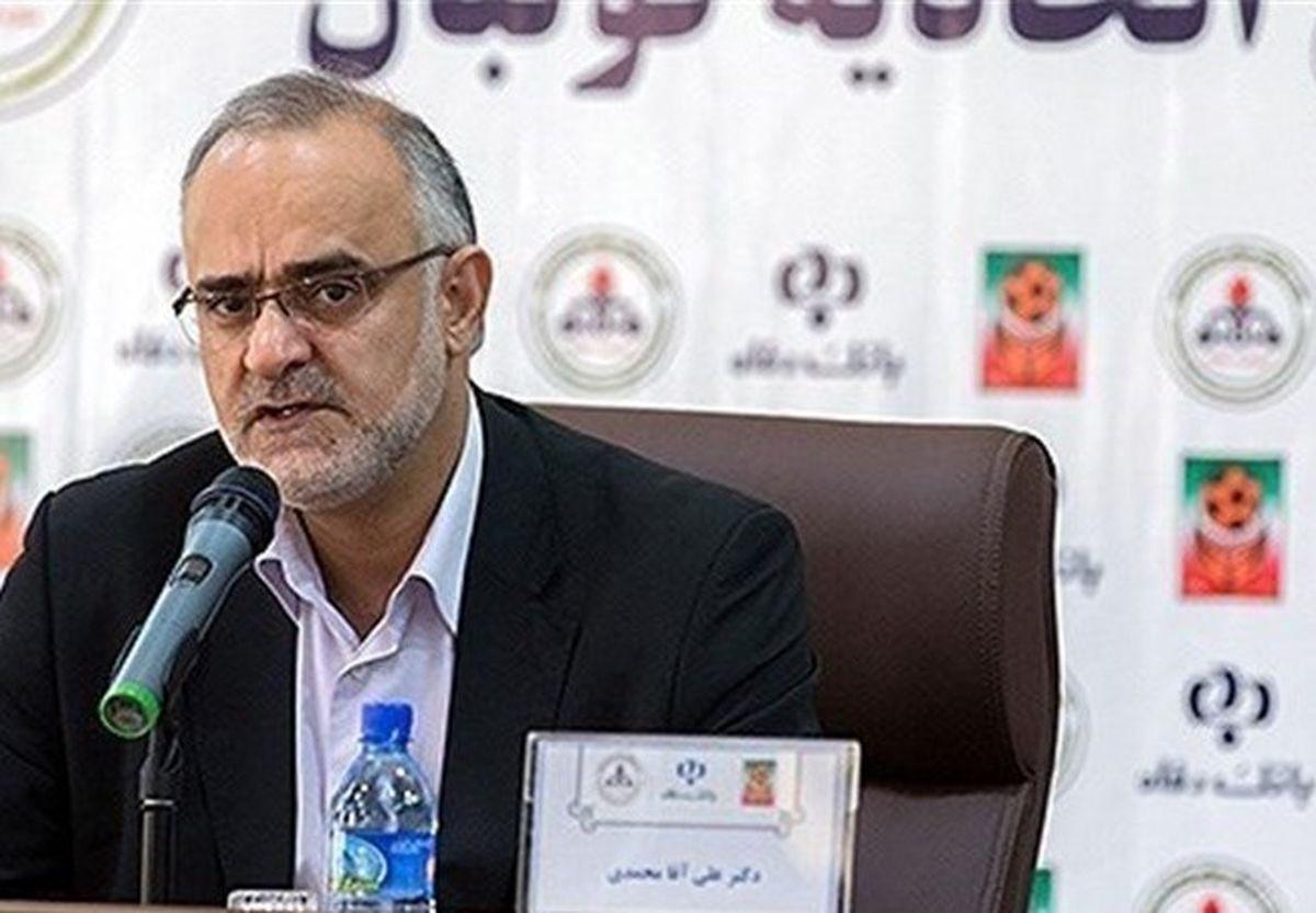 نبی: عدم پخش بازیها به ضرر ایرانیهاست