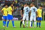 برزیل 1 - 0 آرژانتین؛ پیروزی در وقت های اضافه