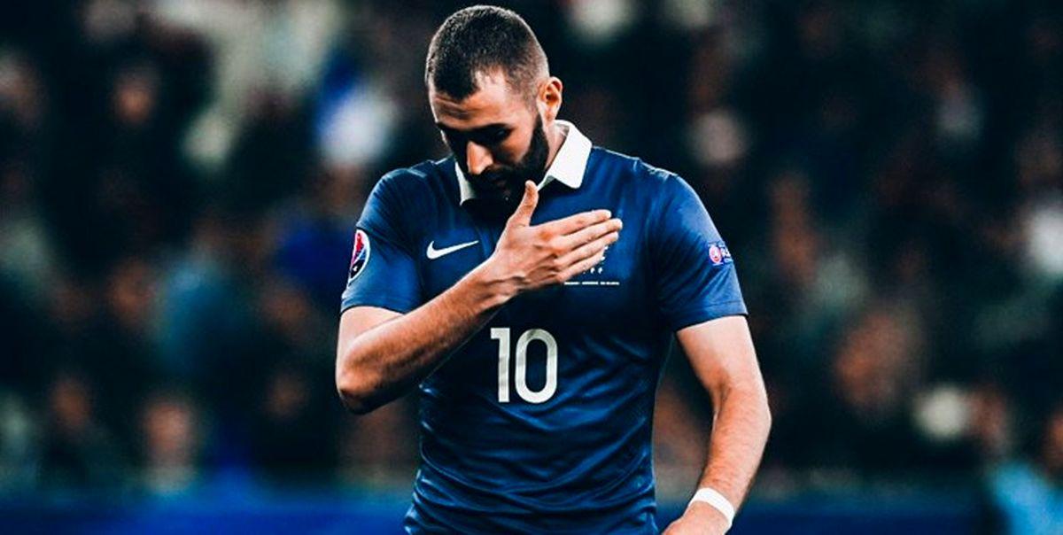 احتمال حضور  بنزما در تیم ملی فرانسه