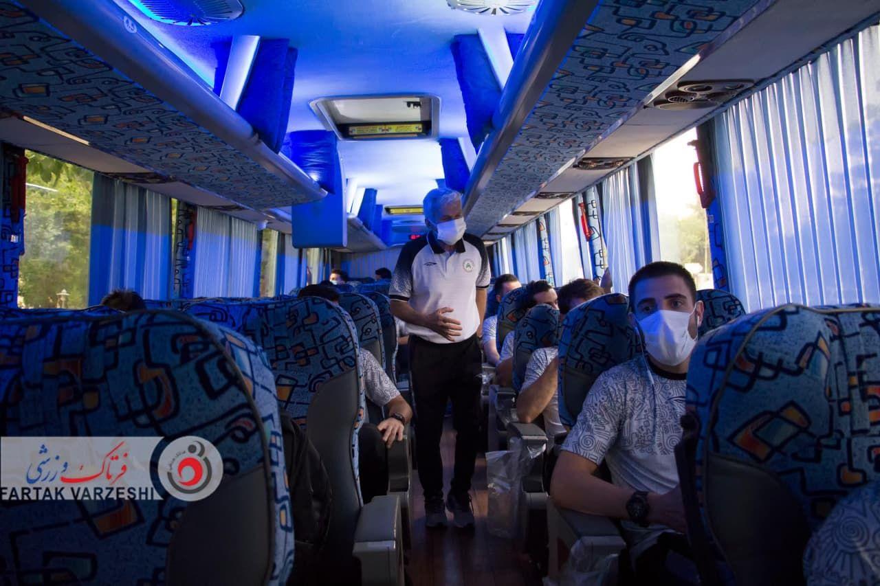 گزارش تصویری تیم ذوبآهن / پرسپولیس