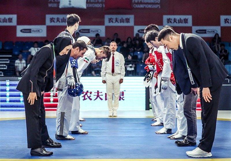 همگروهی نمایندگان ایران با کرهجنوبی و چین تایپه در مسابقات تیمی هنرهای رزمی