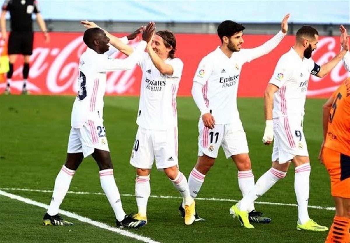 لالیگا  رئال مادرید «خفاشها» را شکست داد و به رده دوم برگشت