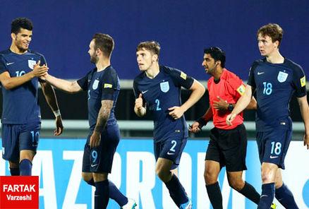 انگلیس به نیمه نهایی جام جهانی زیر20سال رسید