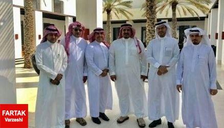 سلطان قابوس در قرق مردم و سیاسیون عربستانی؛ پرسپولیس تنهاست+عکس