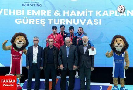 کاویانینژاد به مدال طلا دست یافت/ ناصرپور و عبدولی صاحب مدال برنز شدند