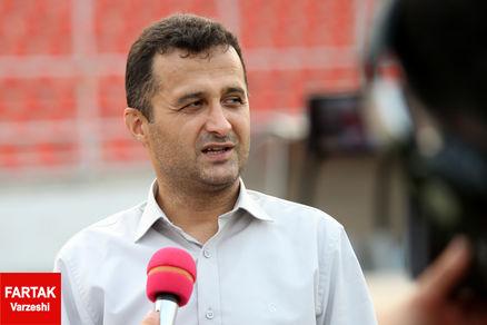 محمودزاده در خصوص عدم برگزاری بازی افتتاحیه لیگ یک توضیح داد