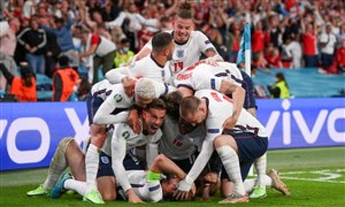 انگلیس 2 - 1 دانمارک؛ فوتبال در آستانه بازگشت به خانه!