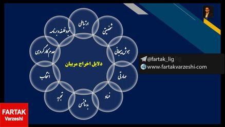 نگاهی به دلایل اخراج مربیان فوتبال در ایران