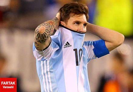 مسی برای آرژانتین بازی نخواهد کرد