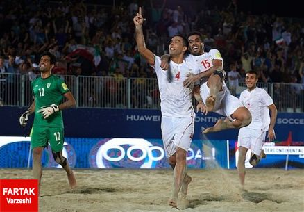 حریفان تیم ملی فوتبال ساحلی ایران مشخص شدند