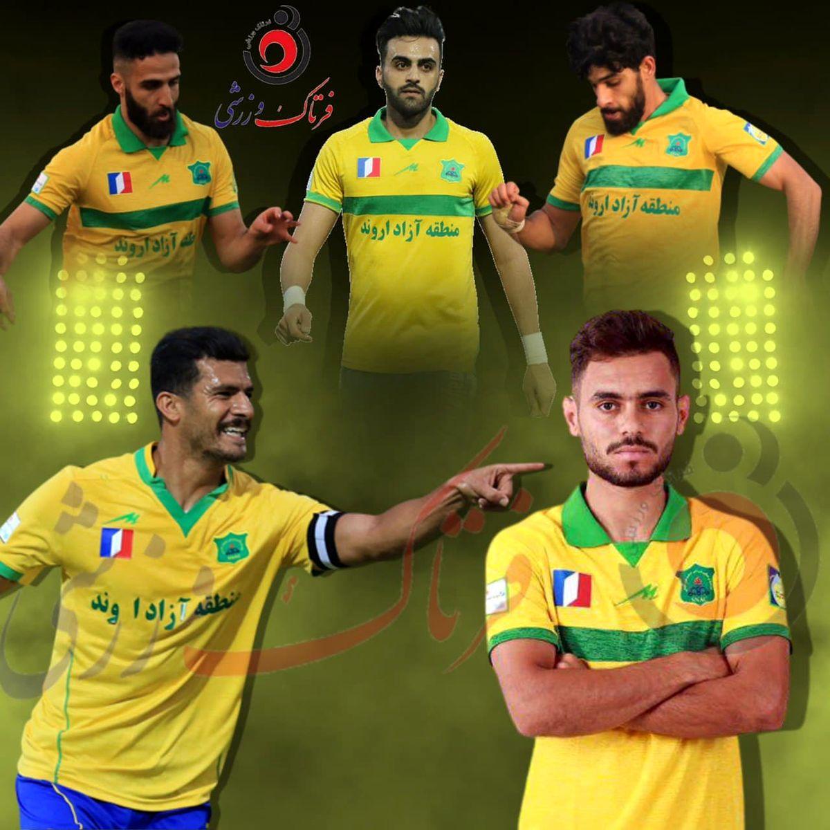 زرد طلایی/ پرچم برزیلیها بر فراز لیگ برتر