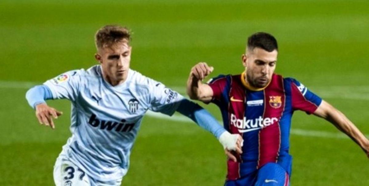 توقف بارسلونا در شب بیادماندنی مسی