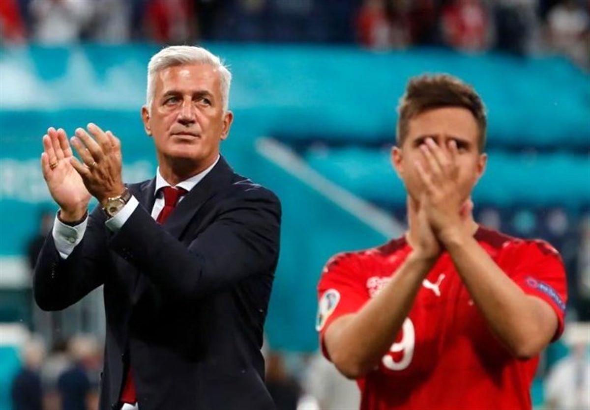 یورو ۲۰۲۰| پتکوویچ: لیاقت حضور در نیمه نهایی را داشتیم/ همچنان به بازیکنانم افتخار میکنم