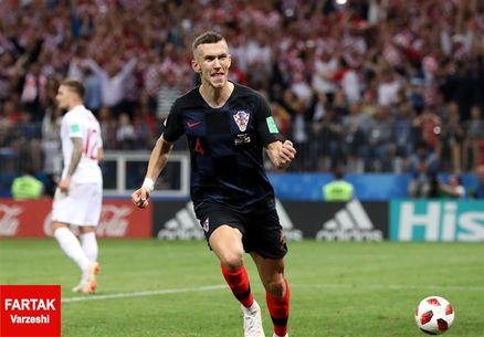 پریسیچ بهترین بازیکن دیدار کرواسی - انگلیس شد