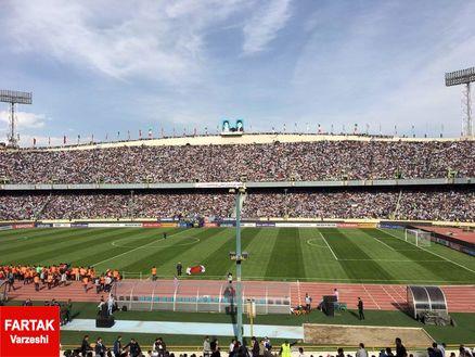 تمهیدات اورژانس تهران برای بازی پرسپولیس و نساجی