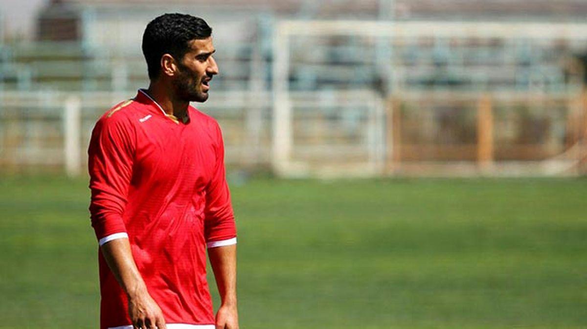 بازگشت حاج صفی به تمرینات تراکتور