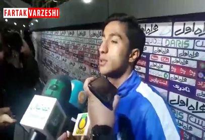اختصاصی/ محسن کریمی: استرس نداشتم ولی کار سختی بود