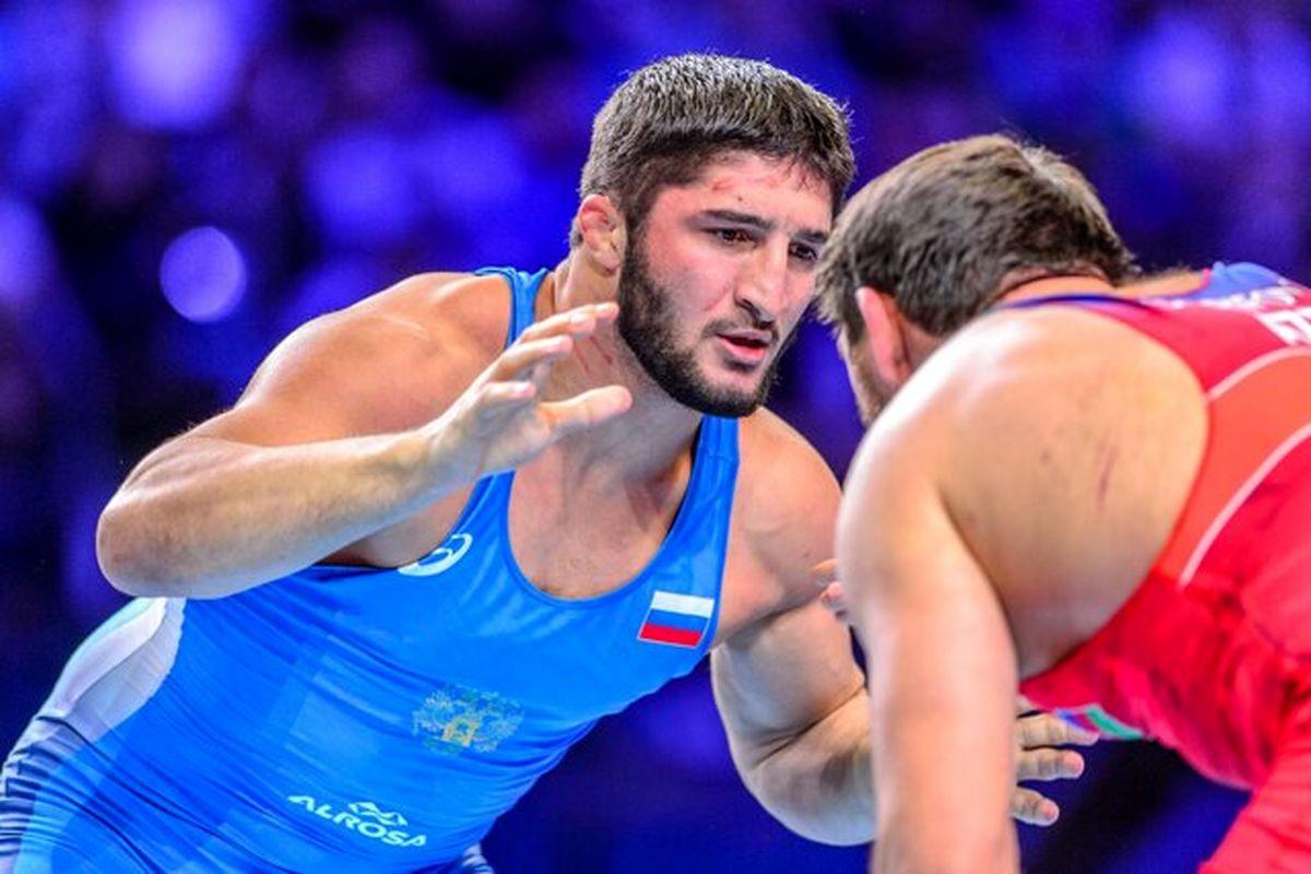 المپیک توکیو| محمدیان به تانک روس خورد