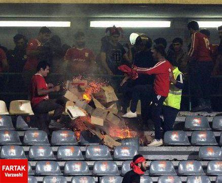 توضیحات سرپرست ورزشگاه آزادی در خصوص خصارات وارد شده به استادیوم