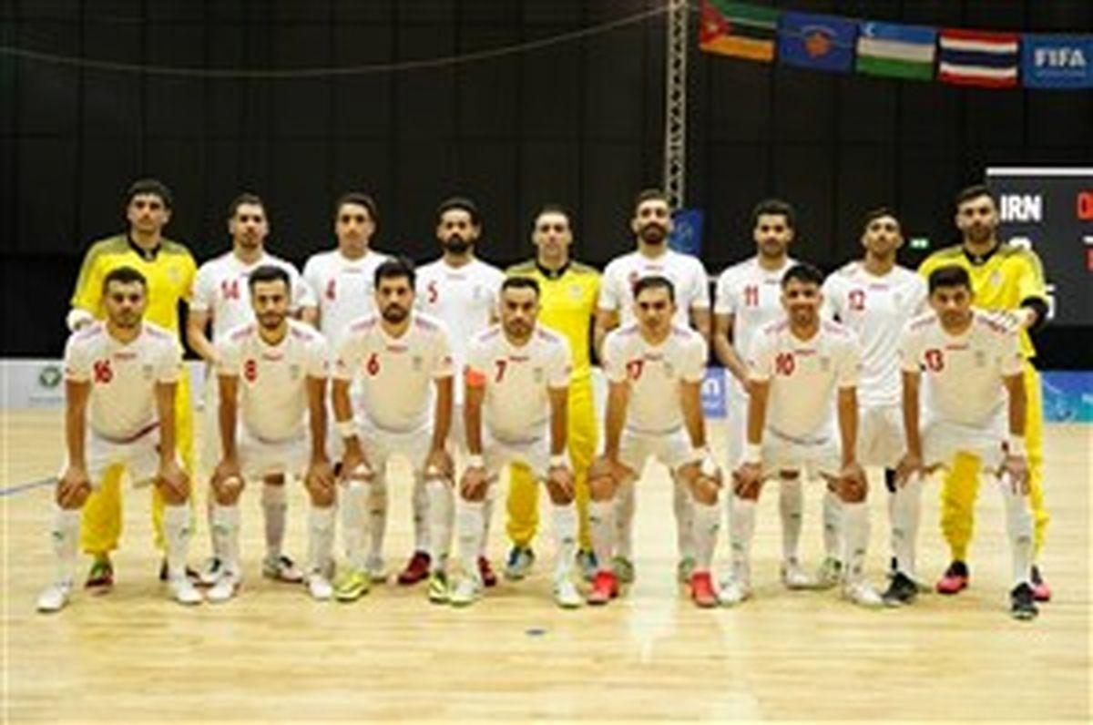 آخرین اردوی ملی پوشان فوتسال قبل از جام جهانی