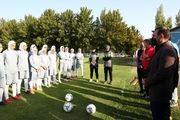 عزیزی خادم: توسعه فوتبال زنان یکی از اهداف اصلی ما است