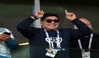 مارادونا برای نجات آرژانتین،آستین بالا زد!