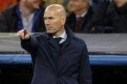 جریمه 1500 یورویی سرمربی رئال مادرید