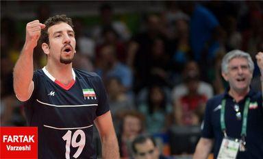 گزارش تصویری : والیبال المپیک ۲۰۱۶ / ایران ۳ - ۰ مصر